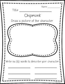 How Chipmunk Got His Stripes: Journeys Unit 2 Lesson 9 Supplemental Resources
