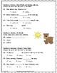 How Chipmunk Got His Stripes ~ Language Arts Test ~ 2nd Grade ~ HMH Journeys