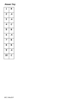 How Chipmunk Got His Stripes ~ Reading Comprehension Test ~ 2nd Grade ~ Journeys