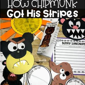 How Chipmunk Got His Stripes Supplement Materials Journeys 2nd Grade