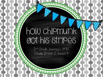 How Chipmunk Got His Stripes activities - Journey's 2nd Gr