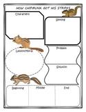 How Chipmunks Got His Stripes Story Map Graphic Organizer