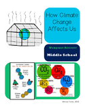 How Climate Change Affects Us Webquest for Distance Learning