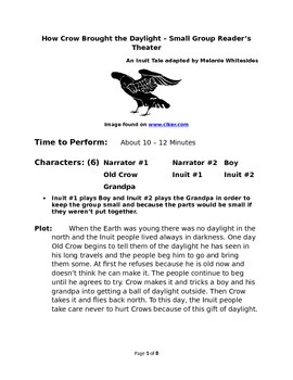 How Crow Brought the Daylight – Small Group Reader's Theater