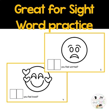 How DO you feel? interactive Sight Word Reader