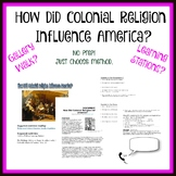 How Did Colonial religion Influence America?