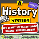 Native American Government: How did it Influence the US Constitution? Mystery!