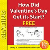 How Did Valentine's Day Get its Start? {FREEBIE}