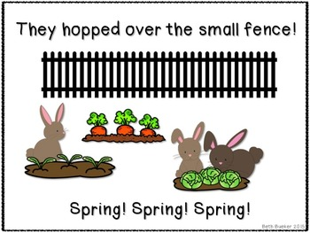 How Did the Bunnies Get into the Garden?