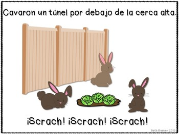 How Did the Bunnies Get into the Garden? - Spanish
