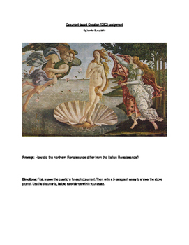 How Did the Northern Renaissance Differ From the Italian Renaissance DBQ