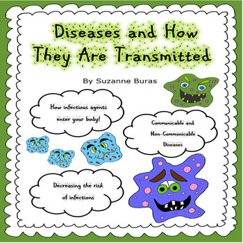 How Diseases Are Transmitted by Suzanne's Classroom | TpT
