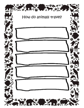 How Do Animals Travel