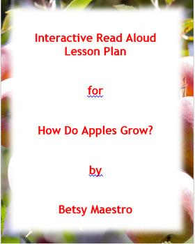 How Do Apples Grow? Interactive Read Aloud Lesson Plan