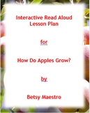 How Do Apples Grow? Interactive Read Aloud Lesson Plan