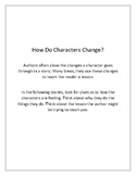 How Do Characters Change?