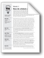 How Do Crickets Chirp?