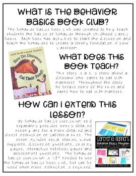 How Do Dinosaurs Eat Their Food?- Behavior Basics Book Club