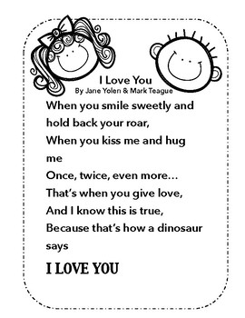 How Do Dinosaurs Say I Love You: Activity Pages