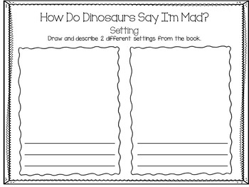 How Do Dinosaurs Say I'm Mad?  21 pgs. Common Core Activities