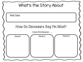 How Do Dinosaurs Say I'm Mad?  26 pgs. Common Core Activities