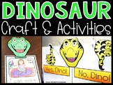 How Do Dinosaurs go to School? Activities, Craft, Anchor Chart & Writing