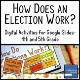 How Do Elections Work?  Digital Activities for Google Slides™