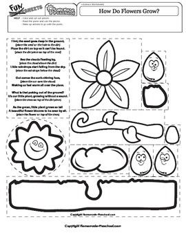 How Do Flowers Grow Poem
