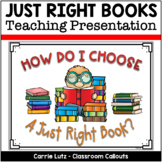 JUST RIGHT BOOKS