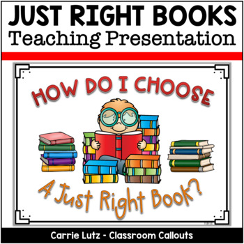 """How Do I Choose a """"Just Right Book?"""""""