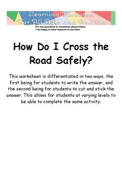 How Do I Cross the Road Safely?