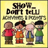 Show Don't Tell {Feelings and Dialogue Writing Activities}