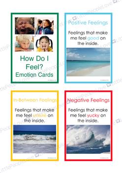 How Do I Feel Emotions Card Set