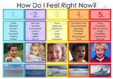 Emotion Scale 'How Do I Feel Right Now?'