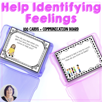 Social Emotional Language Skills - Describe How You Feel, What You Do, Why