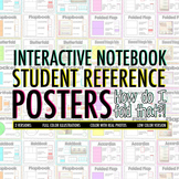 How Do I Fold This?! Interactive Notebook Student Reference Posters