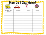 How Do I Get Home? Open house - transportation - Getting home