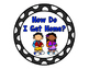 How Do I Get Home- Polka Dot Clip Chart
