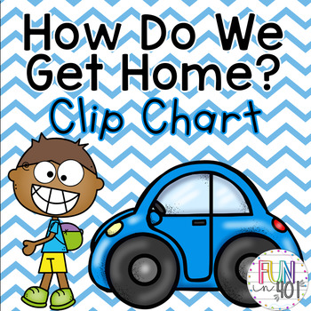 How Do I Get Home Today? Clip Chart for Easy Classroom Management