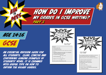 How Do I Improve My Grades In GCSE English writing? PART 2