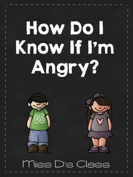 Identifying Anger Printable