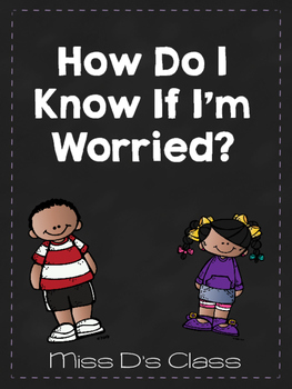 Identifying Anxiety Printables