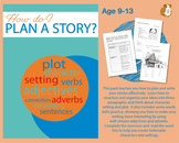 How Do I Plan A Story? (Creative Story Writing Work Pack)
