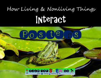 How Do Living and Nonliving Things Interact POSTERS