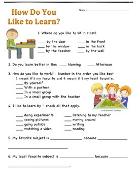 How Do My Students Learn?