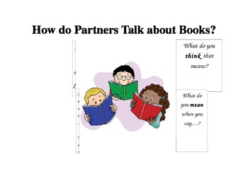 How Do Partners Talk About Books?
