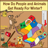 How Do People and Animals Get Ready For Winter?