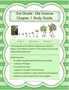 How Do Plants Live and Grow?  National Geographic Life Science Chapter 1