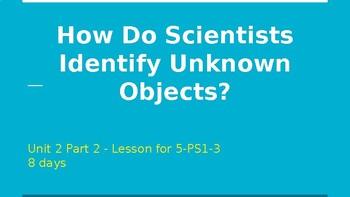 How Do Scientists Identify Unknown Substances? (Unit 2, Part 2)