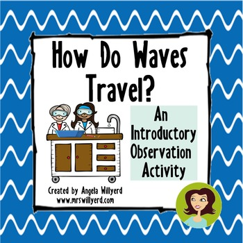 How Do Waves Travel? {Introductory Observation Activity for Mechanical Waves}